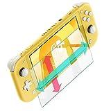 【Amazon限定ブランド】Nintendo Switch Lite ガラスフィルム 保護フィルム 強化ガラス 指紋防止 気泡防止 高透過 ニンテンドー 任天堂 スイッチライト 日本製 素材 【WANLOK】9H 2.5D 0.3mm Switchlite Clear