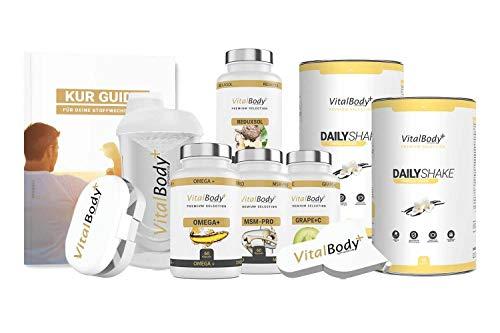 Orig. 30 TageApotheken Stoffwechselkur/HCG Diät - für Männer&Frauen - detaillierter Ablaufplan, Ernährungsplan & viele leckere Rezepte - professionelle Ernährungsberatung - Deutsche Premium Qualität!