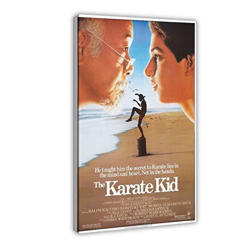 Filmposter The Karate Kid All Valley Championship Turnier 80er Jahre Film Poster 2 Leinwand Poster Schlafzimmer Dekor Sport Landschaft Büro Zimmer Dekor Geschenk 60 x 90 cm Rahmen style1