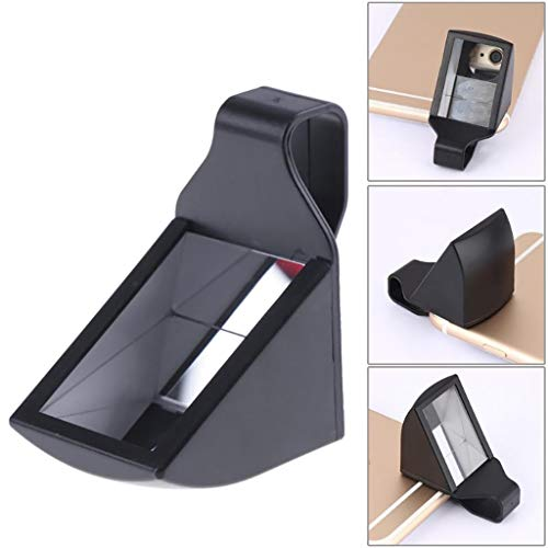 ESCPALATS Handy-Kamera-Objektiv, Mobilfunklinse Universal Clip 90 ° Periscope Type Mobile Linse für iPhone x 10 7 6 6S 5 Samsung Tablets Smartphone