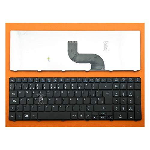 IFINGER Teclado Compatible SP ESPAÑOL Acer Aspire Nuevo 8942 8942G 5810 5810T...