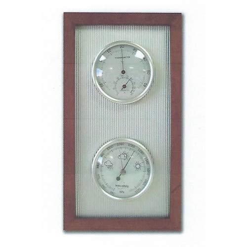 Inovalley - Barómetro termo-higro de diseño tradicional