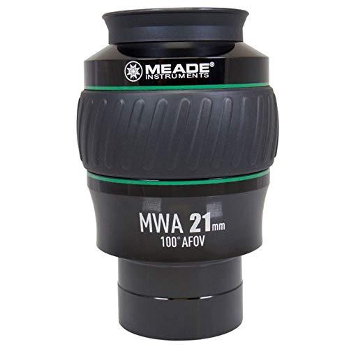 Meade Instruments 607018 Eyepiece, 100 Degree, MWA 21MM, 2-Inch (Black/Green)