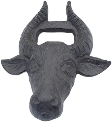 Ylqlbs European-style Cast Iron Bull Opener Head Limited price sale Ret Industry No. 1 Home Bottle