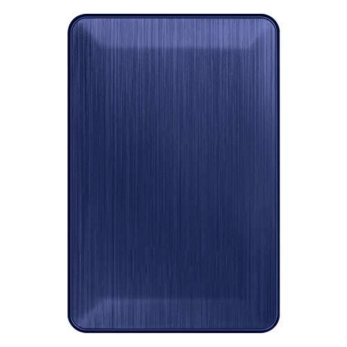 1 TB USB 3.0 Disco Duro Externo Duro de 2 TB 500G Dispositivo de Almacenamiento USB Flash Drive Linda 120Gb USB, 2518- Azul, 80 GB