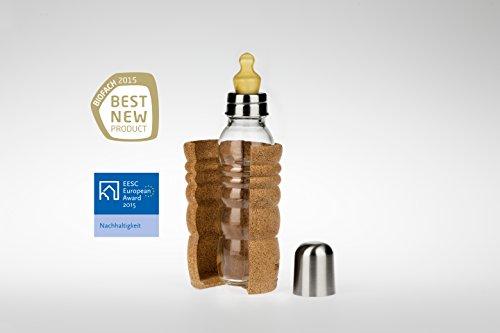 Natures-Design Baby Trinkflasche Thank You 0,3 Liter hitzebeständig