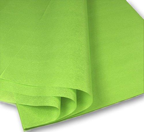 Cortador de papel de seda, 28 hojas, formato 50 x 70 cm, color verde claro