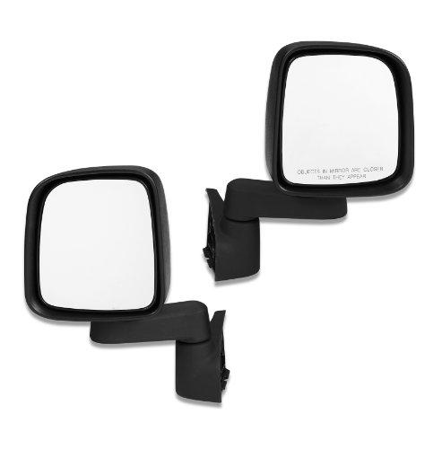 Bestop 5126101 HighRock 4x4 Replacement Mirror Set for Wrangler 1988-2006