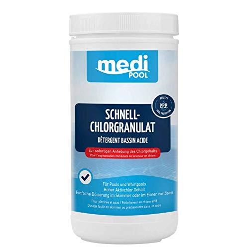 Medipool Schwimmbadpflege Schnell-Chlor-Granulat, 1 kg