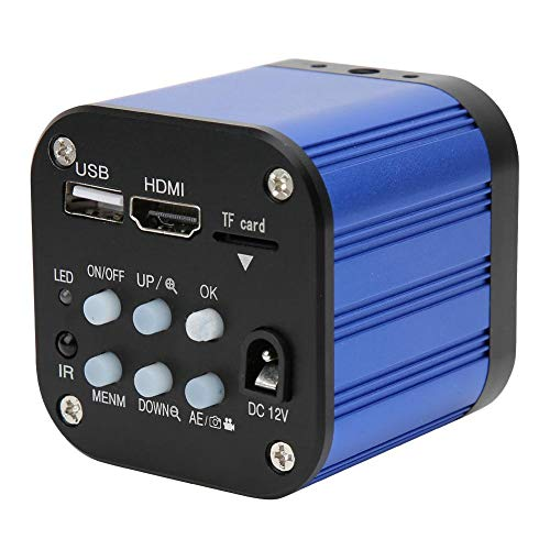 Tonysa 4 Karat mikroskop Kamera 1080 p hdmi USB Digitale elektrische industriemikroskop Kamera für wartungsinspektion Mobile CPU/leiterplatte(EU Plug)