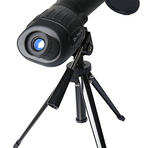 Gskyer Spotting Scope, 25-75x75 Bird Watching Telescope, Target...