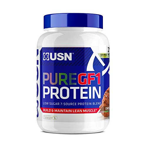 USN Pure Protein GF-1 2000 g Chocolate - Growth and Repair Protein Shake