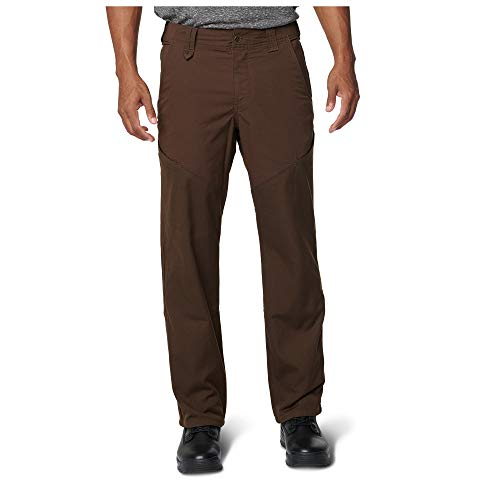 5.11 Tactical Men's Stonecutter Pants, Poly-Cotton with Teflon Finish, Style 74447, Burnt, 30W x 30L