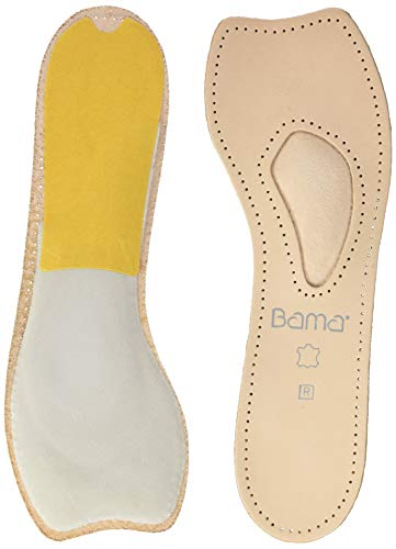 Bama Brillant 3/4 Ledersohle Komfort-Sohle, Beige, 37 EU