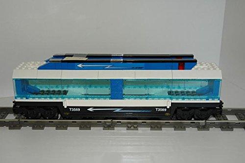 Gebrauchte Bausteine Ersatz für Lego System Lego 9V + RC Eisenbahn Train 4560 Waggon Autos Fahrzeuge Wagon CAR KOMPATIBEL MIT Lego 9V + RC System