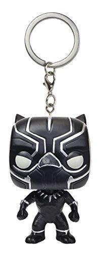 Funko Pop! Keychain : Captain America Civil War - Black Panther Figure by Captain America Civil War