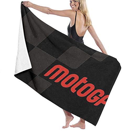 ghjkuyt412 Bath Towel,80X130Cm Moto GP Bath Towels Super Absorbent Beach Bathroom Towels For Gym Beach SWM SPA