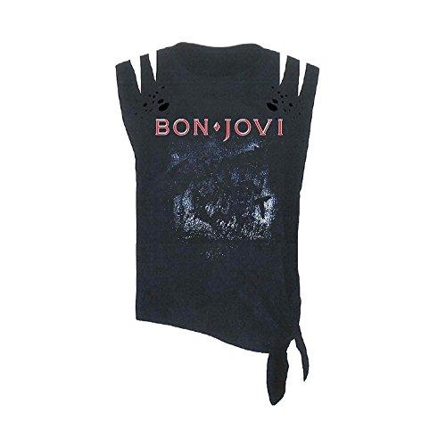 Onbekend Bon Jovi Slippery When Wet (Acid WASH/Cut) TS