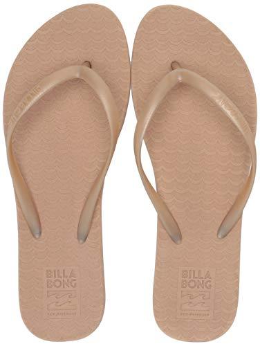 Billabong Women's Good Waves Eco-Friendly Beach Sandals Beige 10/41