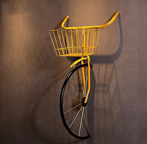 QBDS Decorazione Vintage da Parete Vintage in Ferro battuto per Biciclette Decorazione da Bar Ristorante Ciondolo Decorativo (Colore : B)