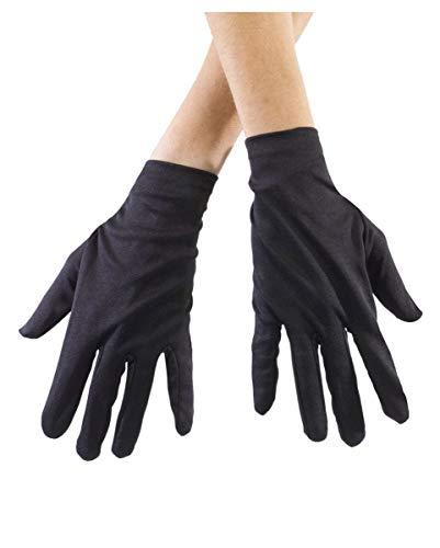 Horror-Shop Gants noirs pour les enfants
