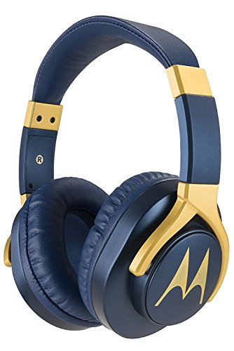 Motorola Pulse 3 Max Wired Headphones (Blue)