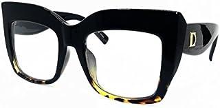O2 Eyewear SA157 Premium Oversize XXL Women Cateye Brand...