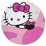 Cojín Cojín de Asiento de Espuma viscoelástica Redondo Transparente Hello Kitty PNG Cojín súper Acogedor Cojín Suave para Interior
