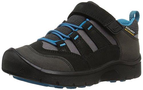 KEEN Unisex-Kinder Black/Blue Trekking-& Wanderhalbschuhe, Schwarz (Hikeport Wp 1017535), 30 EU
