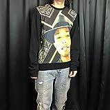 MY T-shirt ファレルウィリアムス ナンバリング 黒 スウェット サイズ M ビリオネアボーイズクラブ BBC アイスクリーム icecream NIGO APE