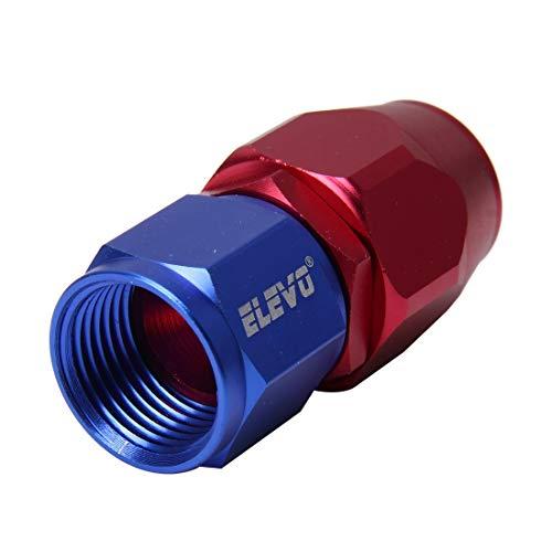 EUYBDZSW Juntas de tubería 0 Grados de Aceite Giratorio Adaptador de Combustible Aceite Aceite Aceite MANGUERGA DE COURIDAD, Ajuste DE Aluminio AN8 Accesorios DE Auto