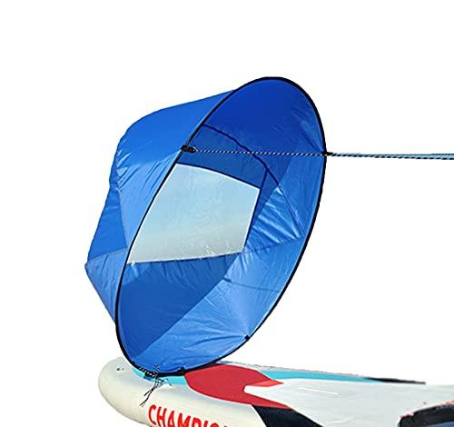 Barco portátil Viruta de Viento, Surfing Wind Paddle Kayak Sail Awinwind Paddle Rowing Boats Ventana de Viento Drop Ship