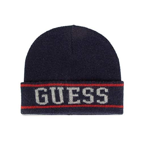 Guess - Gorro unisex de lana para hombre