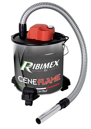 Ribimex Aspiracenere elettrico su ruote 'CENEFLAME' 1200 W