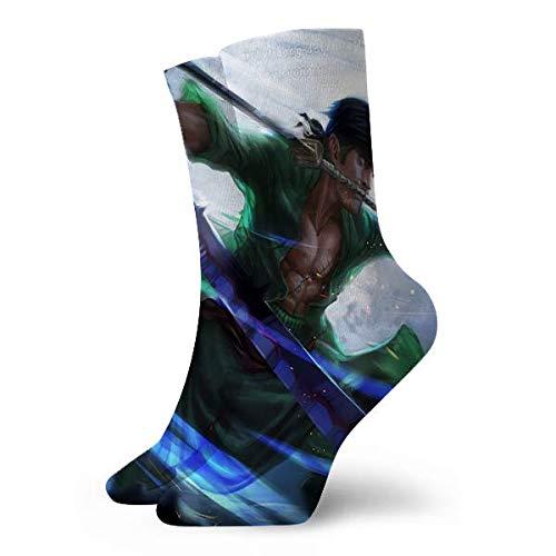 landianguangga Los calcetines Sanji de una sola pieza son ligeros, transpirables, deportivos, calcetines y calcetines deportivos cómodos.