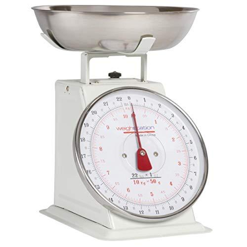 Weighstation Báscula Cocina Resistente 10 kg Acero
