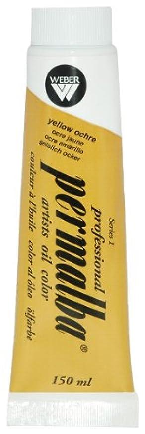 Permalba 150-Ml Artist Oil Color, Yellow Ochre