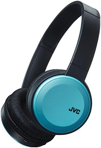 JVC HA-S30BT-A, Auriculares On-Ear, Inalámbrico, Negro y Azul