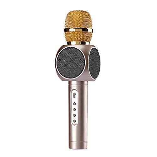 ZED- Draadloze Microfoon Karaoke, Karaoke Apparatuur Draagbare Karaoke Speler Luidspreker voor Apple iPhone Android Smartphone Of PC, Home KTV Outdoor Party Muisc Spelen Zingen Altijd