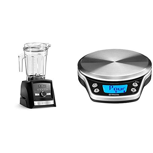 Vitamix A3500 Ascent Series Smart Blender, Professional-Grade, 64 oz. Low-Profile Container, Graphite & Perfect Blend Smart Scale and Recipe App