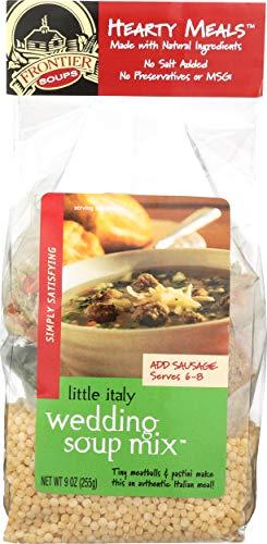 Frontier Soups, Soup Mix Italian Wedding, 9 Ounce