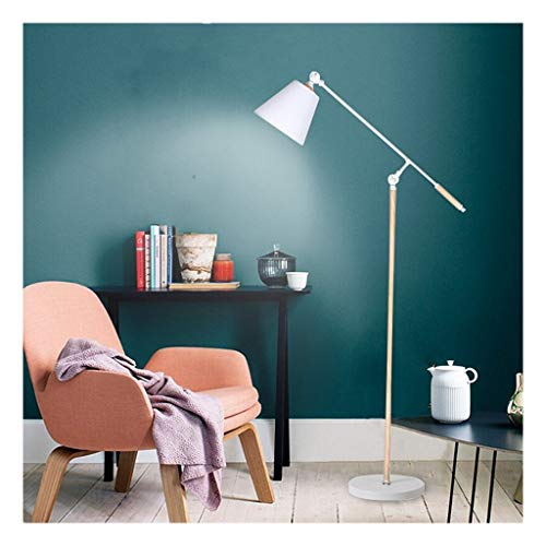 Staande lamp oogbescherming staande lamp leren leerlingen witte woonkamer bank slaapkamer kantoor verticale tafellamp Creative Lighting LED instelbare hoek LED