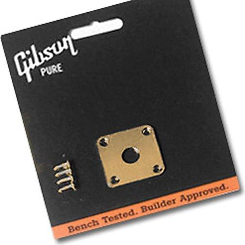Gibson Metal Jack Plate Gold (PRJP-020)