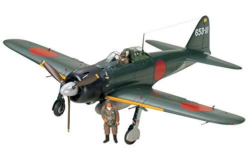 タミヤ 1/32 エアークラフトシリーズ No.18 日本海軍 三菱 零式艦上戦闘機 52型 プラモデル 60318