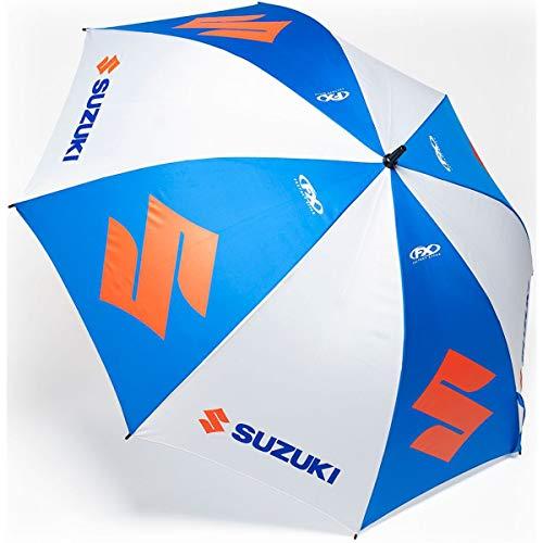 Suzuki Regenschirm Sonnenschirm Umbrella RM RMZ weiß blau FX
