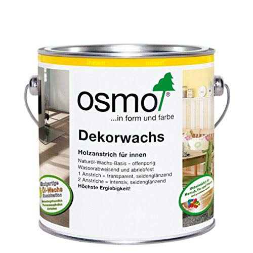 OSMO Dekorwachs Transparent 375ml Nussbaum 3166
