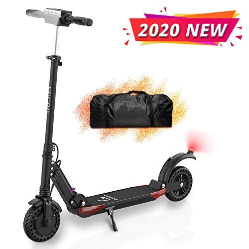 ACGAM Kugoo S1 Pro Vouwen Elektrische Scooter, 350 W Motor LCD Display Screen 3 Speed Modes 8 Inch Tire 30 km Lange Bereik Elektrische Kick Scooter met LED Licht en Tas