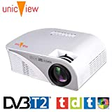 Proyector FULLHD Unicview SG100 con TV TDT, reproduce AC3, MKV, AVI HD,...