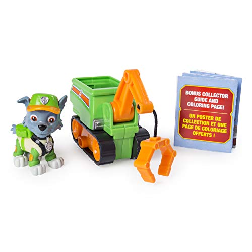 Paw Patrol Mini Vehículo Ultimate Rescue, Rocky