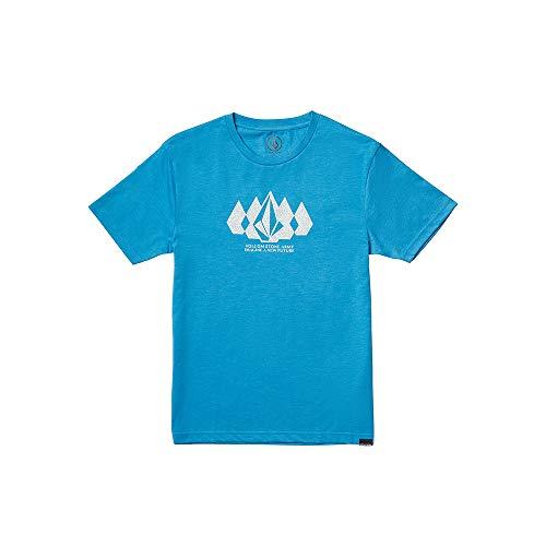 Volcom Jungen Stone Army HTH Ss Unterhemd, blau (True Blue), M